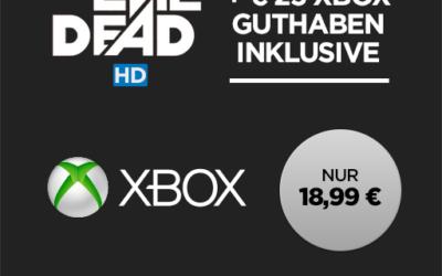 25 Xbox Guthaben + Film in HD für 18,99 EUR bei Wuaki