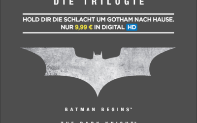 The Dark Knight – Drei Filme in HD für 9,99 EUR bei Wuaki
