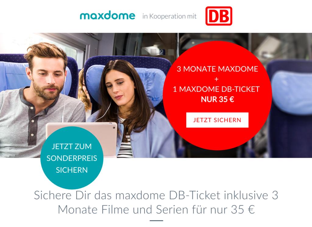 maxdome-bahn